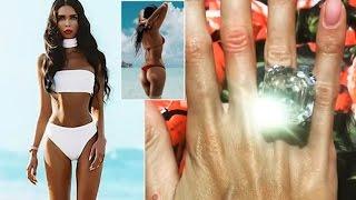 £7million 70-Carat Rock Given To Model Ksenia Tsaritsina