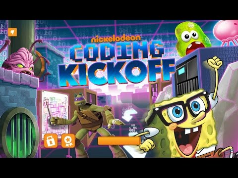 Games: Nickeldeon Coding Kickoff!