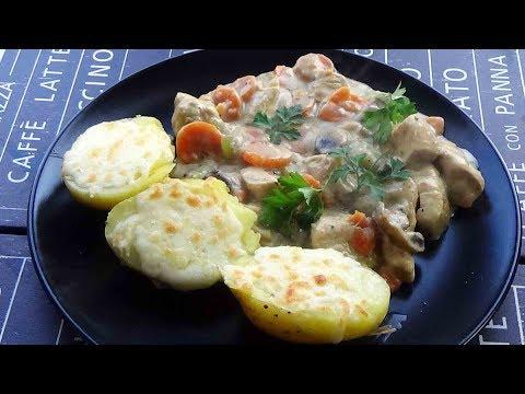 blanquette-de-poulet-facile-et-légère