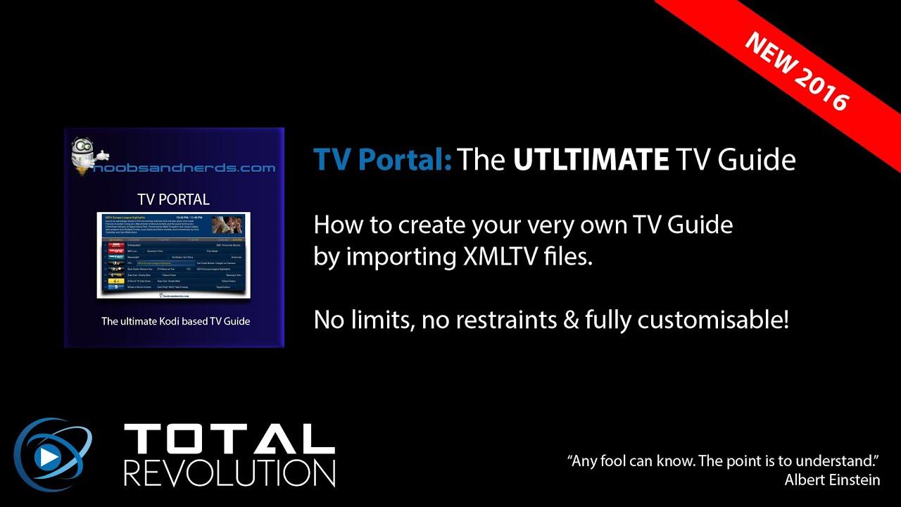 tvp importing tv xml files youtube