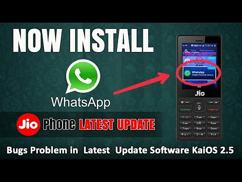 How to install WhatsApp Application in Jio feature phones