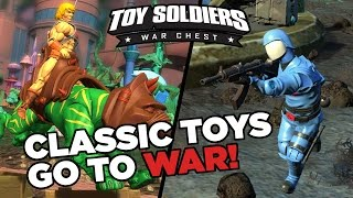 Cobra vs. He-Man 10 Minute Gameplay - Toy Soldiers: War Chest