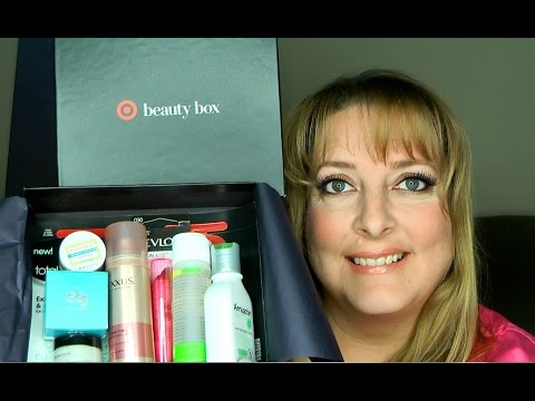 Target Beauty Box January 2017 Unboxing $10.00