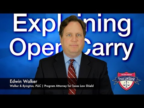 Texas Open Carry is Imminent