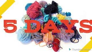 ⭐Scrap Yarn Crochet Projects⭐ 5 Day Scrap Yarn Series