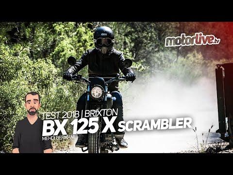 BRIXTON BX 125 X SCRAMBLER - La ville autrement | TEST 2018