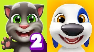 My Talking Tom 2 VS My Talking Hank