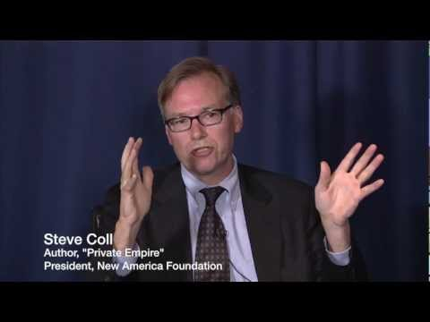 Steve Coll on the Relative Power of Oil Companies in Developing Nations