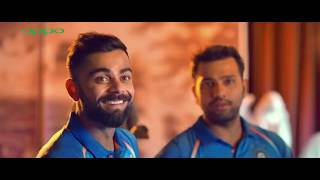 OPPO F3  Funny Ad TV Commercial featuring Indian Cricket Team
