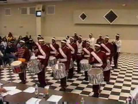 The First Annual Midwest Drumline Competition 2004