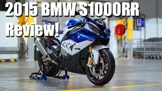 2015 BMW S1000RR REVIEW!