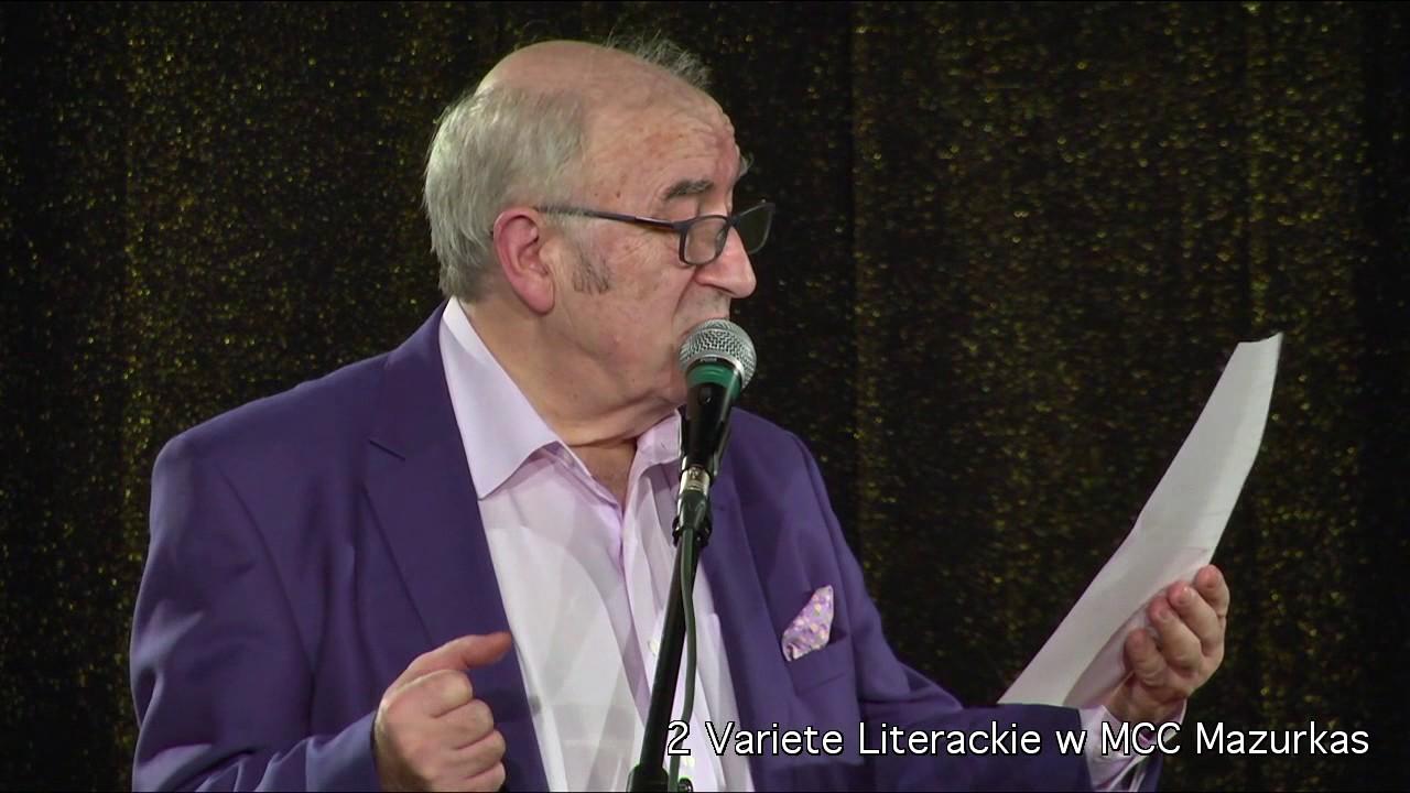 2 Variete Literackie - Andrzej Bartkowski - wiersz dla Marka Majewskiego