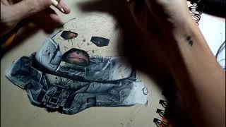 Juggernaut of Deadpool 2 3D Drawing