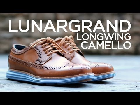 Quick Look: Cole Haan LunarGrand LongWing - Camello