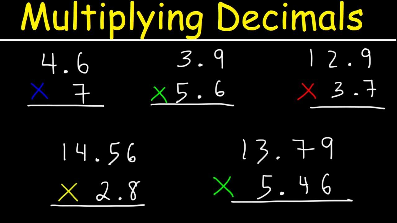 medium resolution of Multiplying Decimals Made Easy! - YouTube