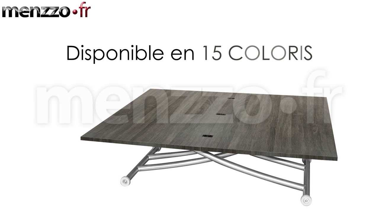 table basse relevable d pliable carrera youtube. Black Bedroom Furniture Sets. Home Design Ideas