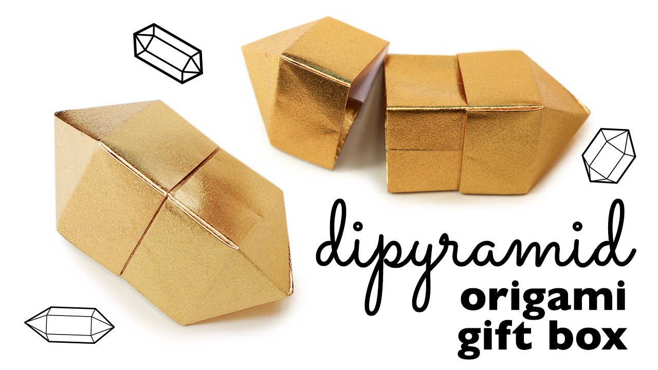Origami Gem Box Instructions Tutorial DIY Gift