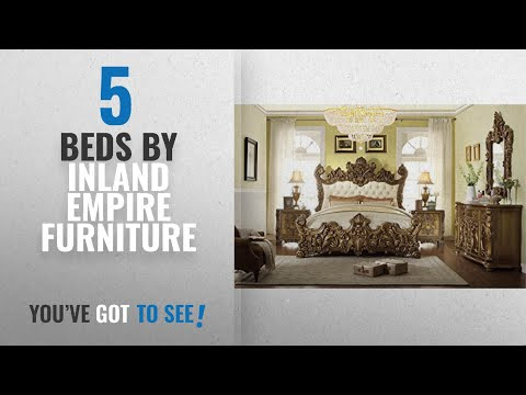 Top 10 Inland Empire Furniture Beds [2018]: Rebecca Eastern King Adult Bed Set