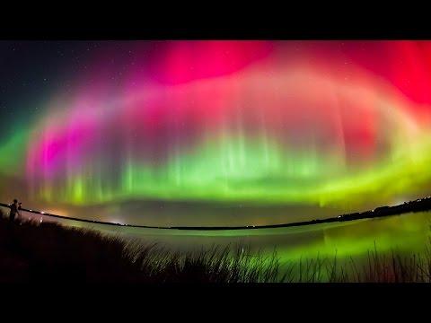 Самое удивительное явление на земле, Северное сияние.