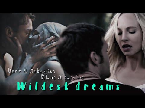 Klaus & Caroline and Lizzie & Sebastian || Wildest Dreams; [+2x08]
