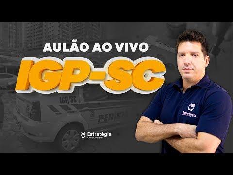 Concurso IGP-SC - Medicina Legal e Criminalística   Ao vivo