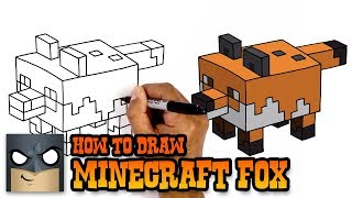 How to Draw Fox | Minecraft (Art Tutorial)