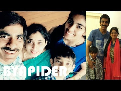 Ravi Teja Family Photos || Father, Mother, Brother, Wife, Son & Daughter!!!