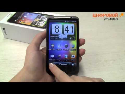 Видеообзор смартфона HTC Desire HD