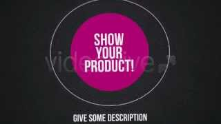 AFTER EFFECTS PRODUCT PROMOTION COMMERCIAL AD TEMPLATE