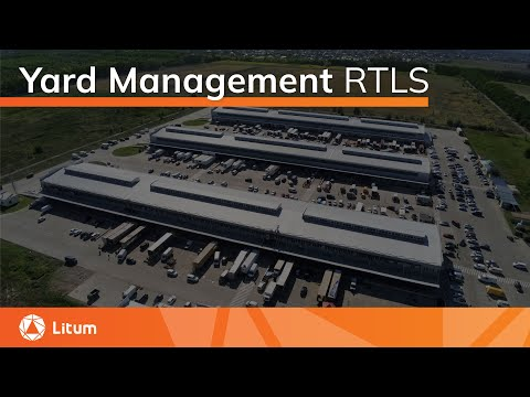 Yard Management RTLS | Trailer Tracking | Litum IoT