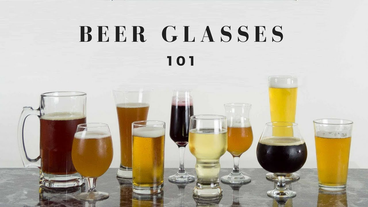 An Easy Guide to Different Craft Beer Glasses & What to use them for ...