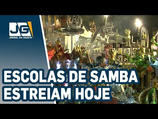 Escolas de samba de São Paulo estreiam hoje no Anhembi