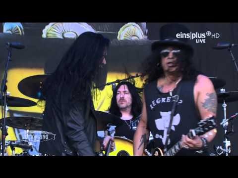 Slash ft. Myles Kennedy & The Conspirators - 02.Nightrain Live @ Rock Am Ring 2015 HD AC3