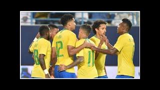 Saudi-Arabien vs. Brasilien Spielbericht, 12.10.18, Internationale Freundschaftsspiele  