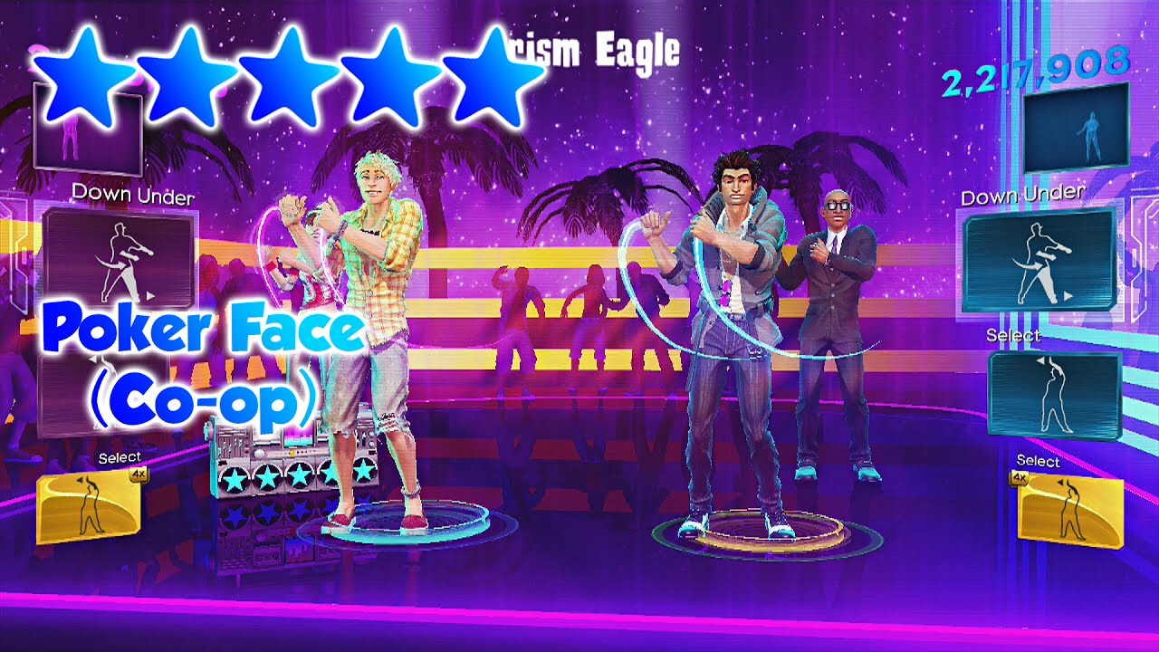 Dance Central 3 - Poker Face (Co-op DC1 Import) - 5 Gold ... - photo #9