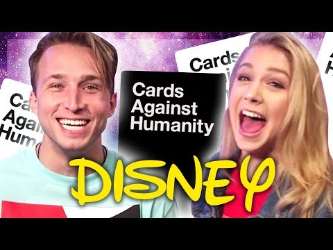 WE PLAY DISNEY CARDS AGAINST HUMANITY (Smosh Pit Weekly)