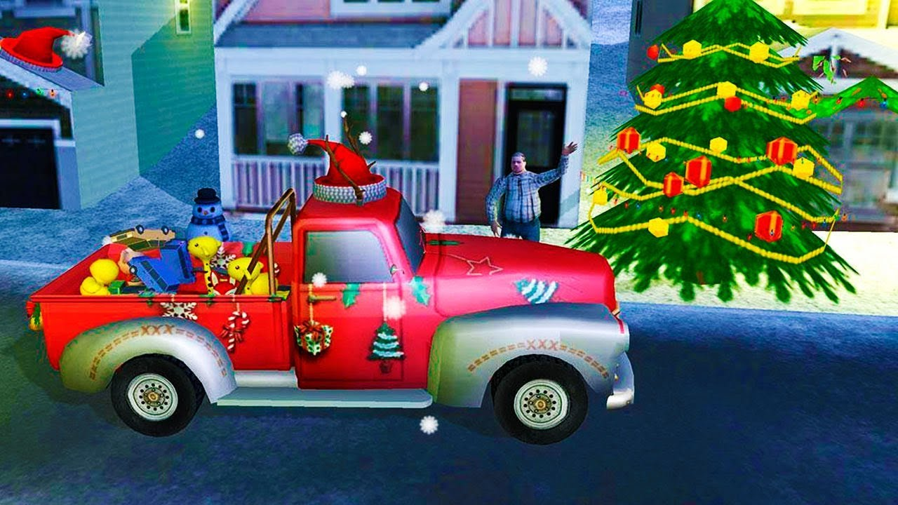 Christmas Driver: Santa Gift Delivery (by Awesome Kids Games ...
