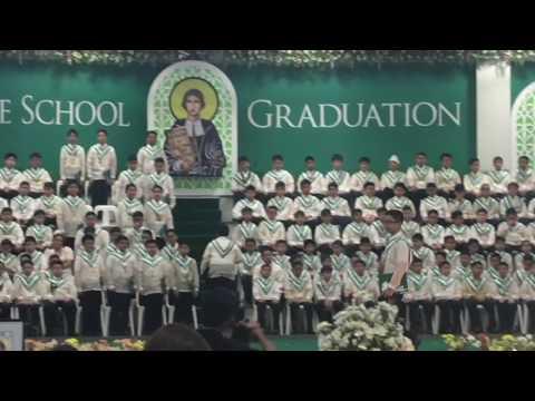 Luis' Graduation 2016 - Grade School, La Salle Green Hills