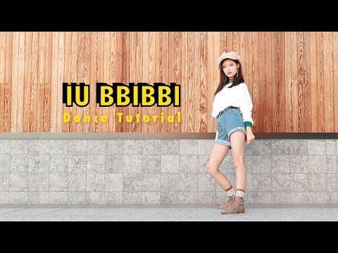 IU bbibbi Dance Tutorial Mirrored