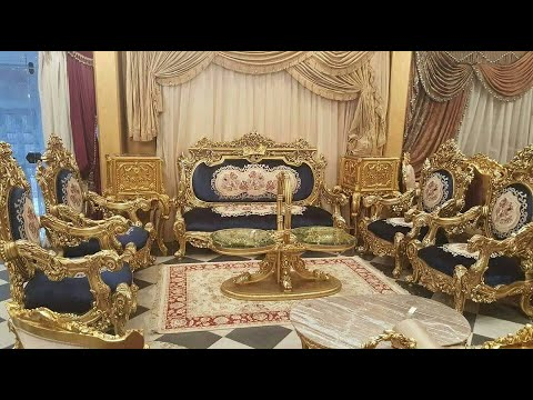 Golden Luxury Palace  Sofa set