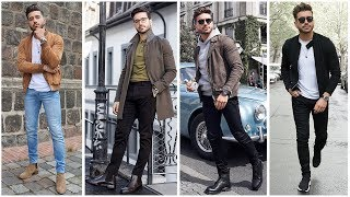 4 EASY OUTFITS FOR MEN | Men's Fashion Lookbook 2019 | Alex Costa