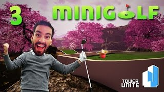 Mine Cart Golfing Madness! (Mini Golf #3)