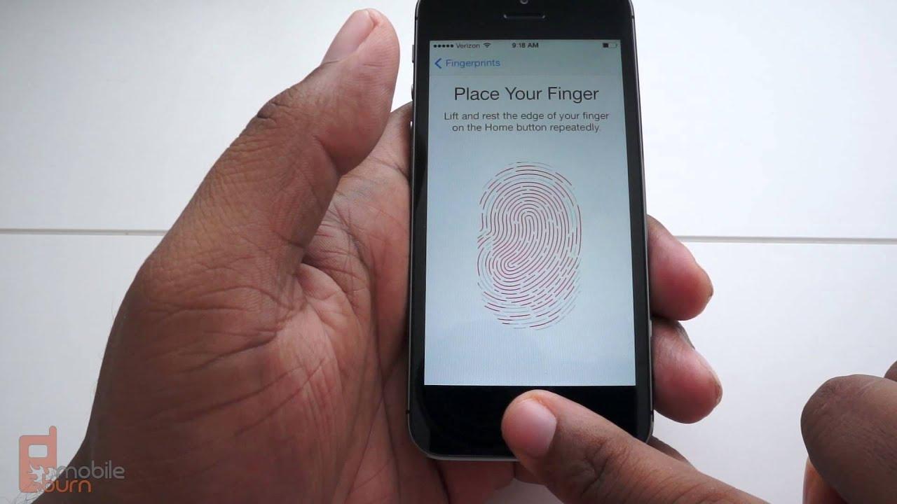 Apple iPhone 5S Touch ID demo: how to setup the iPhone fingerprint sensor