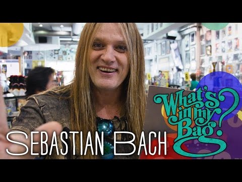 Sebastian Bach - What's In My Bag?