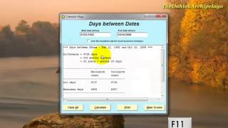 Convert Geez Calendar to-from Gregorian Calendar, etc. - Part II