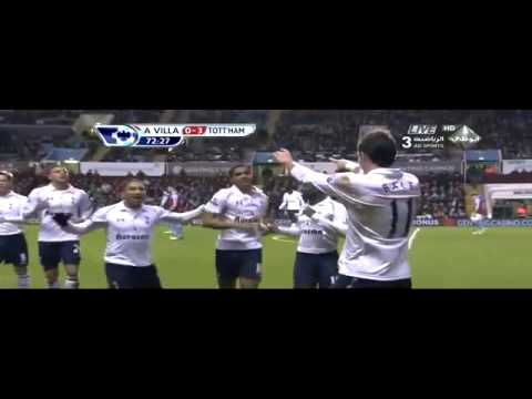 Full HD aston villa vs tottenham 0 4 26 12 2012 goals & highlights