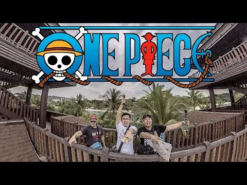 One Piece Hunt at Sentosa Singapore
