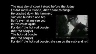 Hot Rod Boogie Howard W  Brady with Lyrics