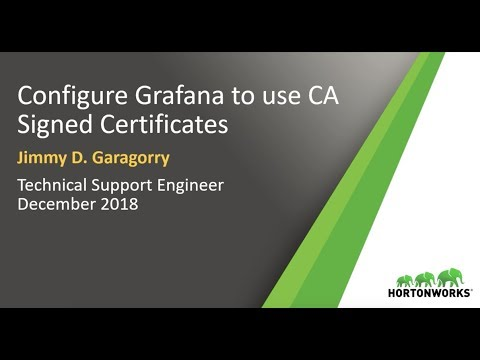 How to configure Grafana to use CA-Signed Certificates?