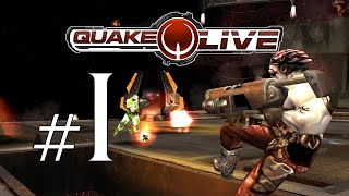Quake Live Part 1 - I'M AN EMBARRASSMENT!!!!!!! Ft. Garrettation